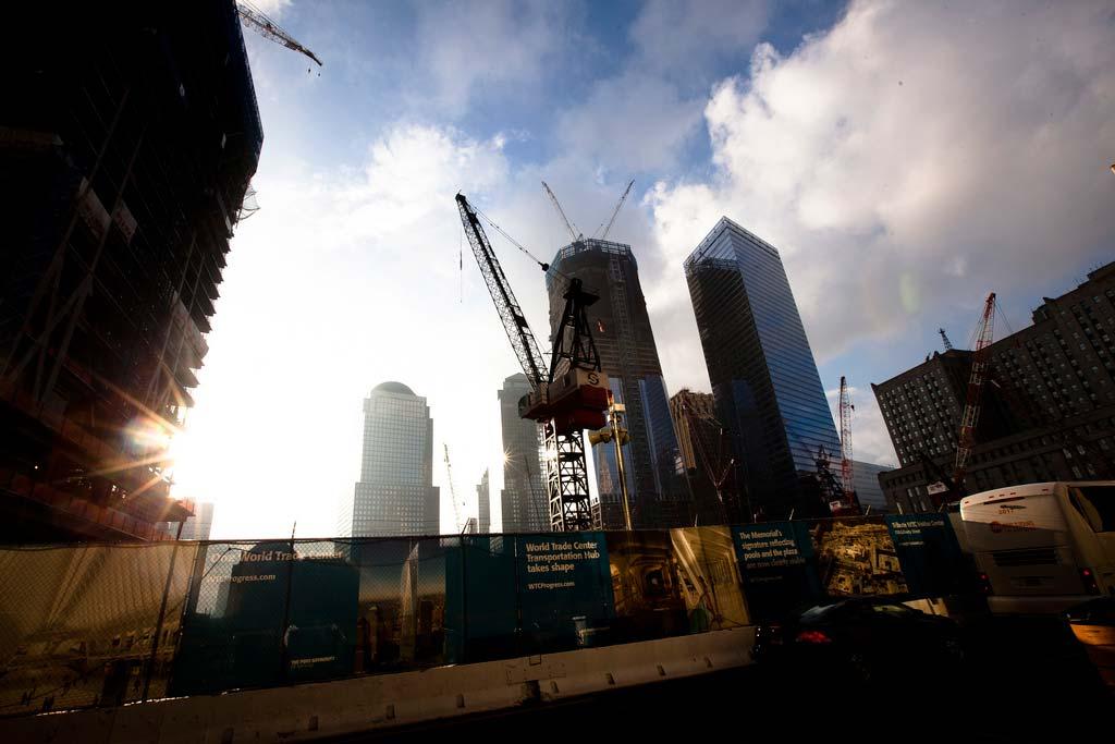 Ground Zero, Friday afternoon