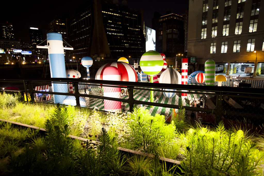 High Line Park, Art Installation, Section 2