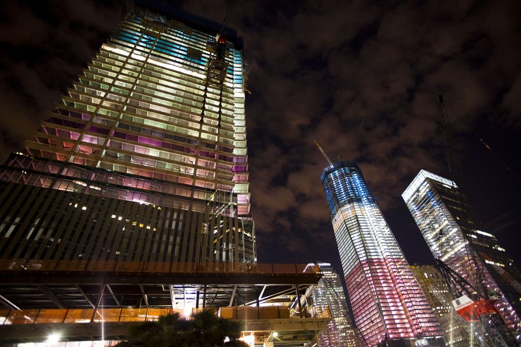 WTC, eve of 9/11/2011