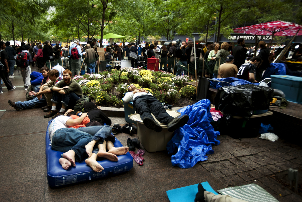 OccupyWallSt, day of canceled city cleaning