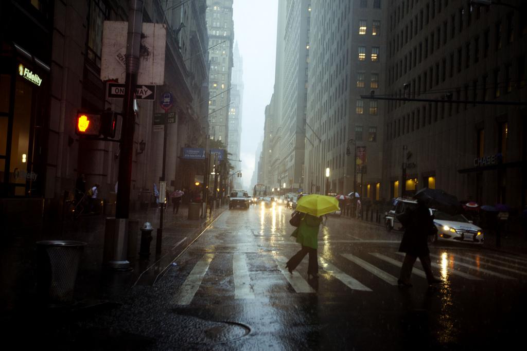 Broadway Rainstorm