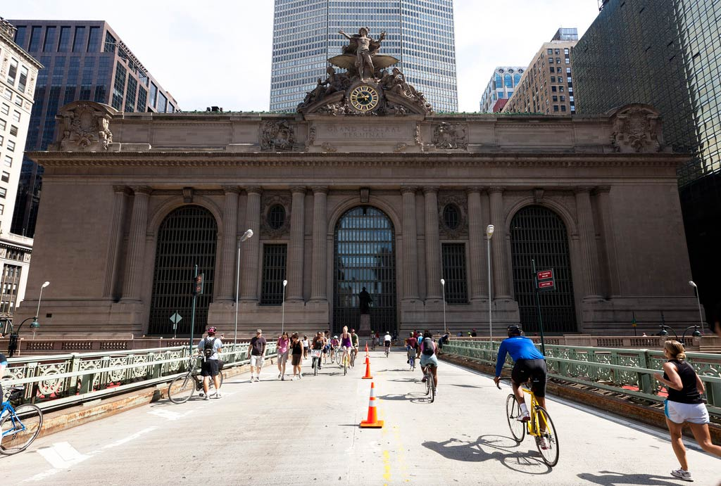 Grand Central Station, while doing Summer Streets NYC